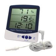 Hygro-thermometer Clock from Hong Kong SAR