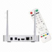 China Super Google's Android Smart TV Box with 2/8GB, 5V/2A Power Supply
