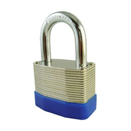 Steel Laminated Padlock with Bumper from Kin Kei Hardware Industries Ltd