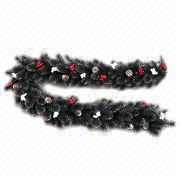 9ft Needle Christmas Garland, Available in Width of 30cm