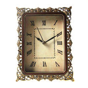 Antique Style Jeweled Metal Clock from China (mainland)
