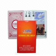 Motor Bike Advertising Gift Playing Cards from China (mainland)