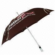 Aluminum Windproof Golf Umbrella from China (mainland)