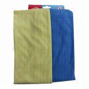Check pattern microfiber cloth from China (mainland)