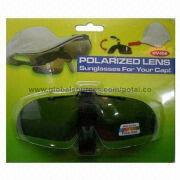 Clip-on polarized sunglasses from Taiwan