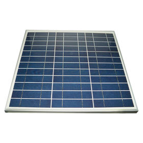 30W Poly Solar Panel from China (mainland)