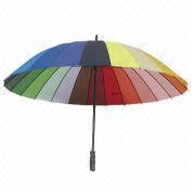Promotional straight rainbow umbrella Wenzhou Success Group Co. Ltd Promotional Department