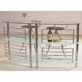Wine Rack Bar Table from China (mainland)