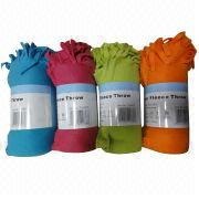 Polar fleece throw Manufacturer