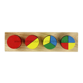 2013 Top Popular Wood Geometric Puzzle Manufacturer