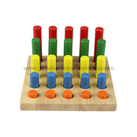 2013 Top Popular Wooden Geometric Puzzle Manufacturer