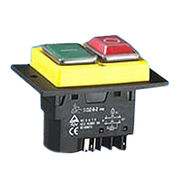 Pushbutton electromagnetic switch from China (mainland)