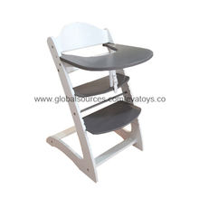Best Quality Wooden Baby High Chair from China (mainland)