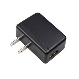 Home and Travelling Portable USB Charger with 1A Output Current for Mobile Phones