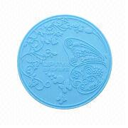 Silicone coasters from Hong Kong SAR
