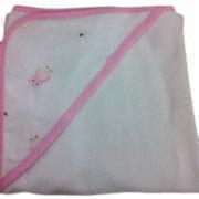 Cotton Muslin Baby's Hooded Blanket Manufacturer