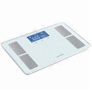 Glass Body Fat Analyzer/Blue Mode LCD Display from China (mainland)