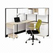 Black and White Simple Combined Staff Desks from China (mainland)