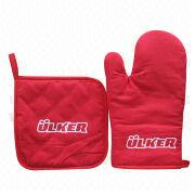 Promotion Oven Mitts from China (mainland)