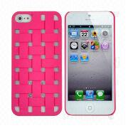Straw Mat Design Hard Case for iPhone 5