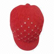 Women's Acrylic Knitted Hat Manufacturer