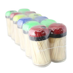 High Quality Toothpicks, Can be Customized with 100% New Bamboo