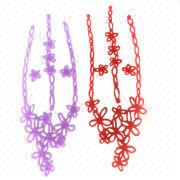 Fashion silicone jewelry chains from Hong Kong SAR