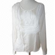 Long-sleeved Blouses from China (mainland)