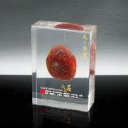 Acrylic desk paperweight from China (mainland)