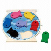 2013 colorful wooden jigsaw puzzle and wooden toys Manufacturer