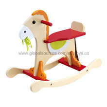 2013 popular wooden rocking horse Manufacturer