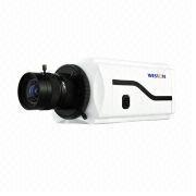 Onvif full HD 2MP IP box two way audio/alarm/auto iris H.264 network camera from China (mainland)
