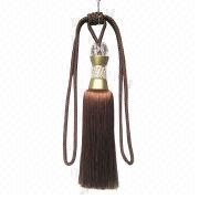 Crystal tassel tieback from China (mainland)