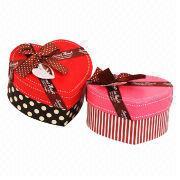 2-piece heart-shape rigid box from China (mainland)