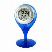 Water-powered Thermometer Alarm Clock from China (mainland)