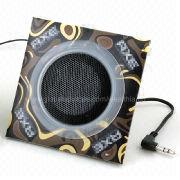 Foldable Speaker Cardboard with Your Brand Name, for Promotional Use from Wealthland (Audio) Limited