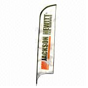15ft High Tear Drop Flags with Printing on Both Sides, Includes Carry Bag, OEM Orders are Accepted