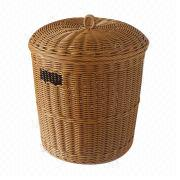 Woven Clothing Basket from Taiwan