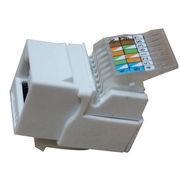 China UTP CAT6 Tool-less Keystone Jack