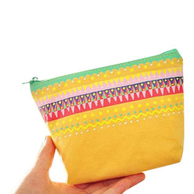Cute Cosmetic Bag for Girls, OEM and ODM Orders Welcomed from Fuzhou Oceanal Star Bags Co. Ltd