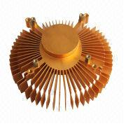 Anodizing Champagne Heatsink from China (mainland)