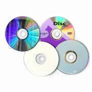 Regular 120mm DVD±R from Hong Kong SAR