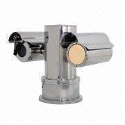 Bullet-proof Stainless Steel IR PTZ Camera from China (mainland)