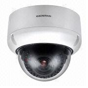 Vandal-proof dome IP camera from China (mainland)