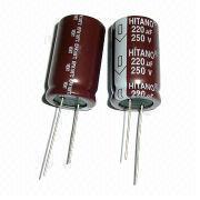 Aluminum electrolytic capacitors from Taiwan