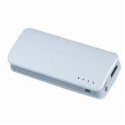 Power Bank with 5,200mAh Capacity, DC 5V/1A Input and DC 5V/1A Output from Shenzhen BAK Technology Co. Ltd