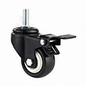 Wholesale Medium/light-duty TPU double ball bearing casters, Medium/light-duty TPU double ball bearing casters Wholesalers