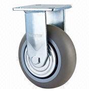 Wholesale Heavy-duty double ball bearing TPR caster, Heavy-duty double ball bearing TPR caster Wholesalers