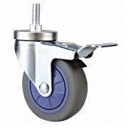 Wholesale Medium duty single ball bearing TPR casters, Medium duty single ball bearing TPR casters Wholesalers