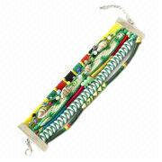 19cm Rice Beaded Magnetic Clasp Hipanema Bracelet Jewelry from China (mainland)